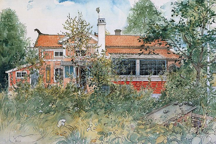 """""""The Cottage""""  ~~  Artist ~Carl Larsson~  