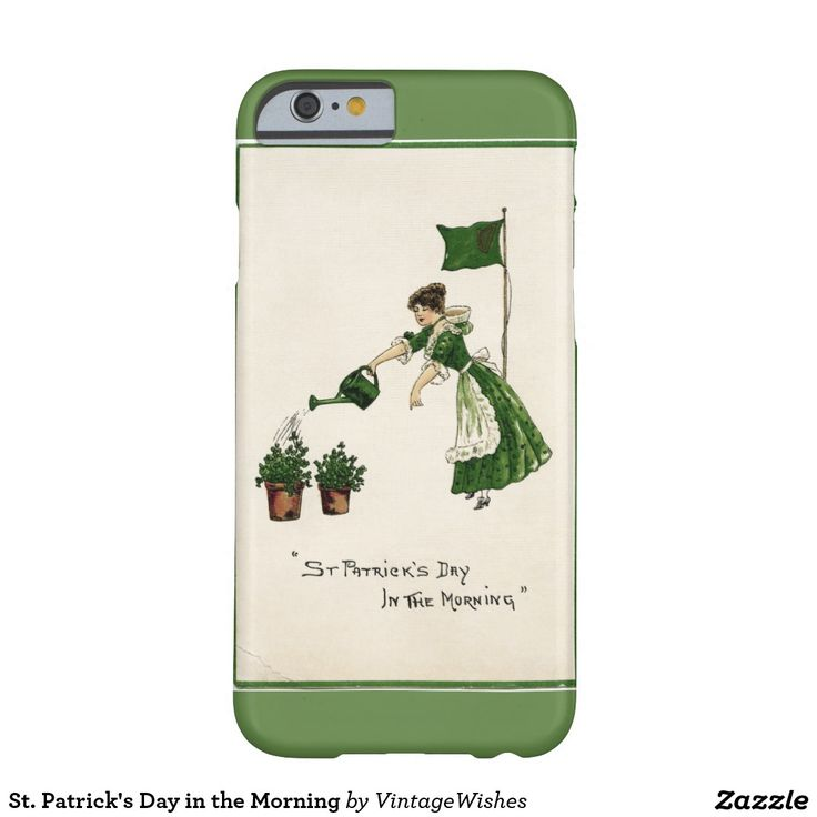 St. Patrick's Day in the Morning Barely There iPhone 6 Case