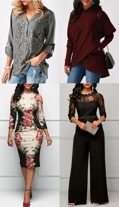 womens fashion, top, blouse, dress and jumpsuit at Rosewe.com, free shipping worldwide.