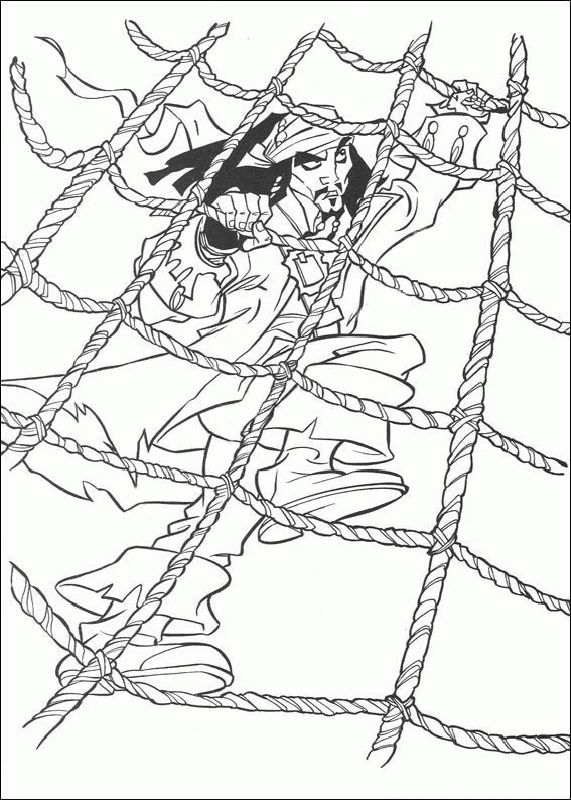 Coloring Pages Disney Pirates Caribbean : Best images about pirates of the carribean on pinterest