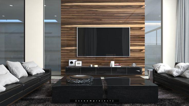 Private Villa Interior Project. Saudi Arabia. Living Room. #xzoomproject #modernvilla #interiordesign #livingroom