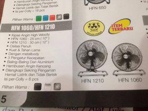 kipas angin fan sekai 1210