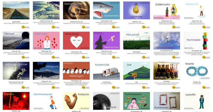 Lernt viele schöne deutsche Wörter mit Bildern - Viele gute Gründe, die deutsche Sprache zu lieben. Für Deutschlerner und Muttersprachler.