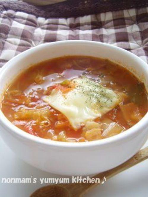 飲むだけで痩せる!?魔法のようなスープレシピをご存知? - Locari ... 簡単♪まっかなダイエットスープ(4人分)