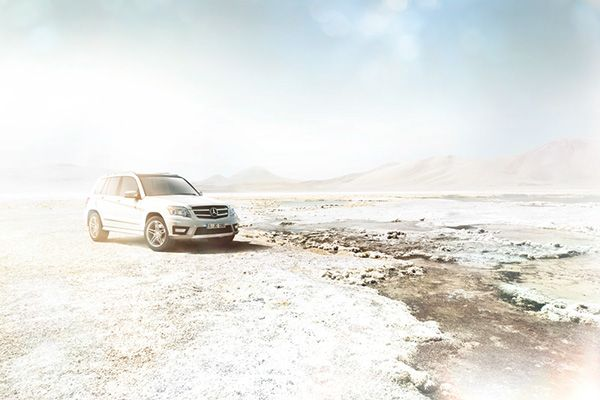 Mercedes GLK on Behance