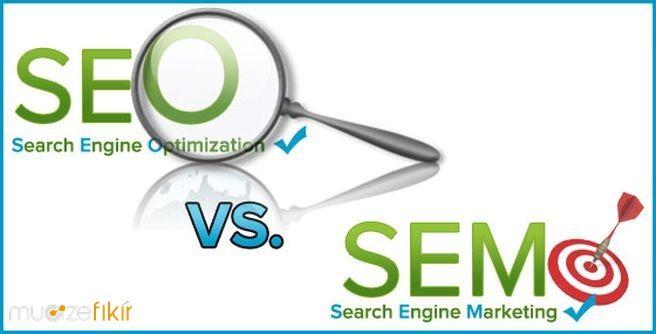 SEM (arama motoru pazarlaması) ve SEO (arama motoru optimizasyonu) kavramları arasındaki farklar Mucize Blog'da en detaylı şekliyle bulunmaktadır.