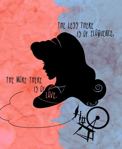 The More There is Of Love Art Print