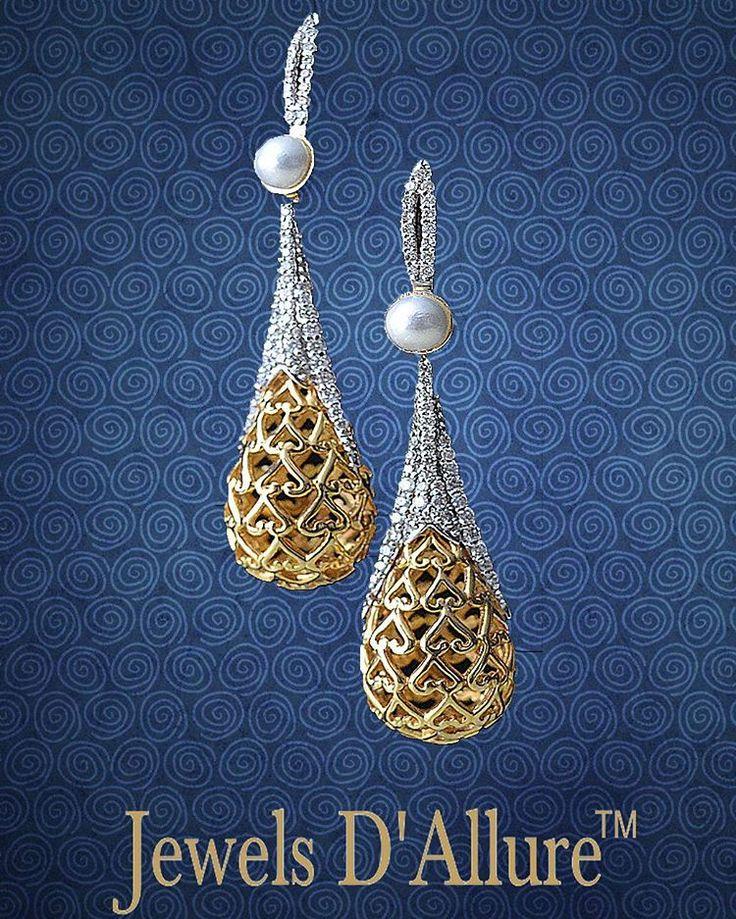 Simple yet elegant designs at Jewels D'Allure #JewelsDAllure #jda #JDAdesign #earrings #hangings #jewelrydesign #jewels #diamonds #instagood #delhi #richlife #ludhiana #clientdiaries #happyclients #happyus #follow #likes #likers #tehran #dubai #chandigarh #gurgaon #karolbagh #nycity #elegant #exclusive #Exquisite #limitededition #singapore #karolbagh