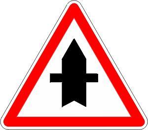 signaux d intersection et de priorit signalisation pinterest panneaux de signalisation. Black Bedroom Furniture Sets. Home Design Ideas