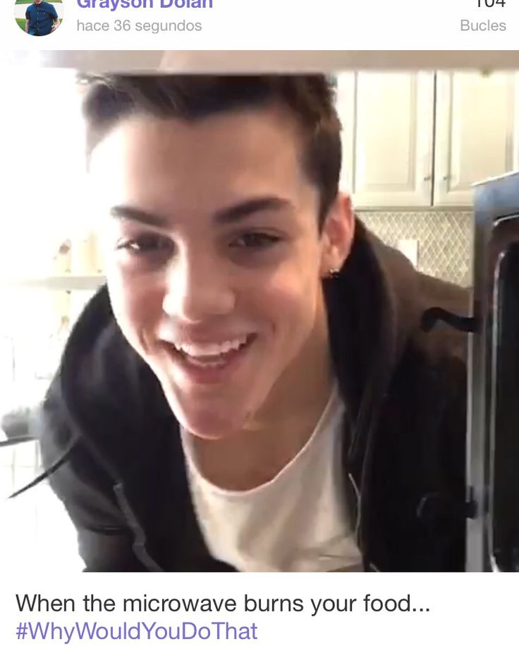 Grayson Dolan cute smile