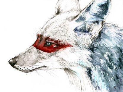 Coyote I Art Print                                                                                                                                                     Más