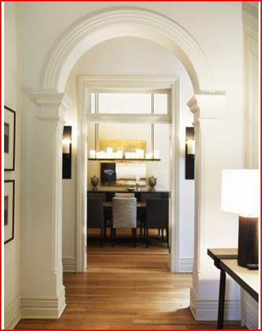 1000 images about crown molding and trim on pinterest for Decorative archway mouldings
