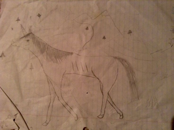 OK. My apologies for the crumpled-ness. This is Pogo the unicorn. Comment if you want to hear her story