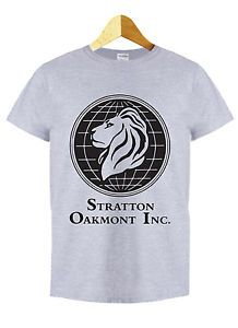 STRATTON OAKMONT T SHIRT WOLF WALL STREET TOP OF IN