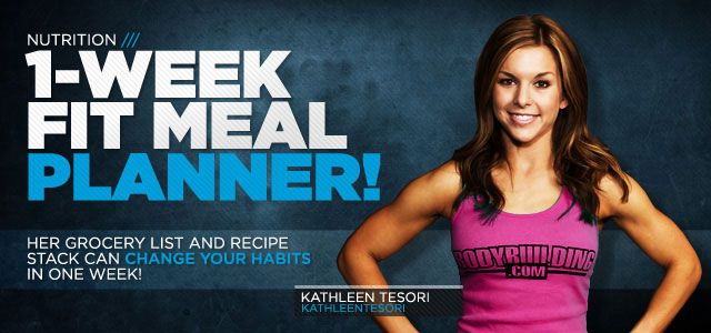 Your Most Efficient 1-Week Fit Meal Planner Ever!