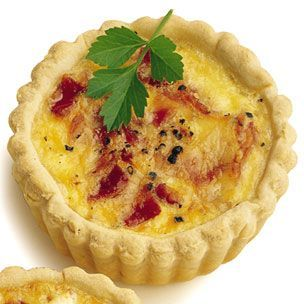 Quick & Easy Quiche + Recipe :   Tenderflake pie shell + eggs, milk & cheese + whatever veggies you have on hand.  So simple & you're good to go! Pair the quiche with a salad and you've got an elegant yet healthy dinner. simpledailyrecipe...