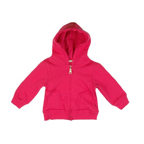 Lush Hoody - mini mioche - organic infant clothing and kids clothes - made in Canada