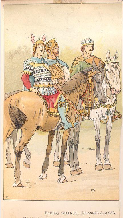 15 - Johannes Brancas, Bardos Skleros, Johannes Alakas.