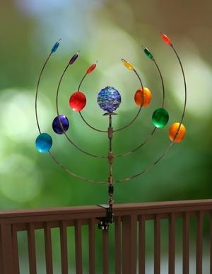 Kinetic Garden Spinner From Gardenfun.com