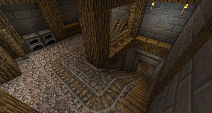 Minecraft - Mining Shaft by TheNose90.deviantart.com on @DeviantArt