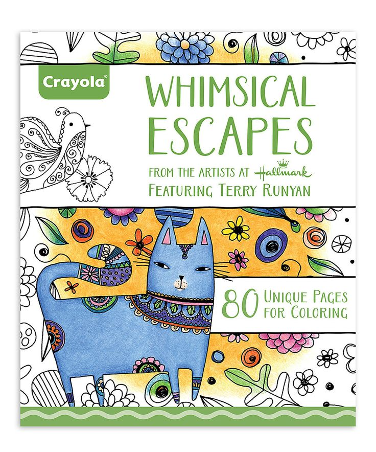 Loving This Whimsical Escapes Coloring Book On Zulily Zulilyfinds