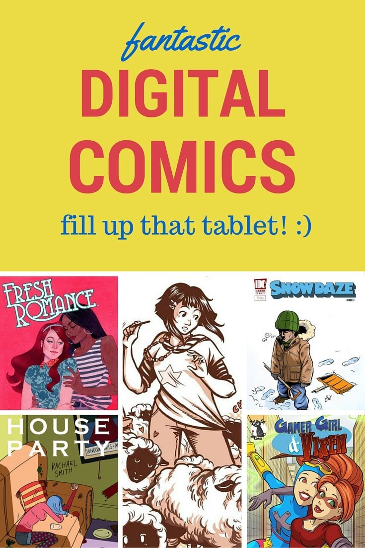 Got Tablet? Start filling it up with great digital comics!