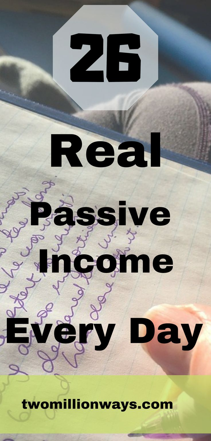26 Real Passive Income Every Day – Melodye's Marketing Mastery
