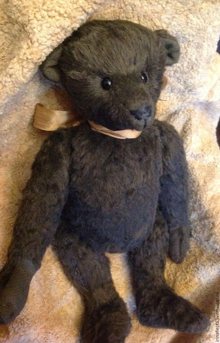 Купить Мишка тедди - коричневый, мишка тедди, антикварная кукла, кукла и игрушки, компаньон антикварки