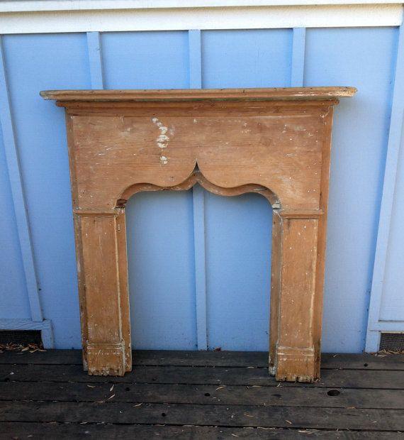 1930s FIreplace Mantel - Wood | 1930s fireplace, The o ...
