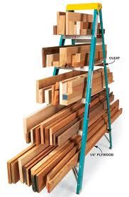 and lumber storage is going to be sooo much neater in my basement...