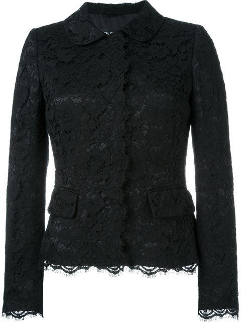 Dolce & Gabbana Lace Jacket - Pompeu Baqueira - Farfetch.com