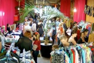 The Mighty Mighty Market is on the first Saturday of each month in Wellington. Vintage clothing, jewellery, craft, records and more.
