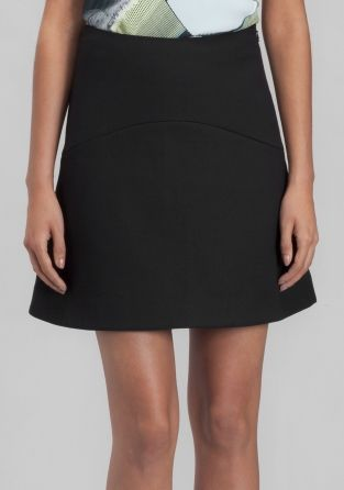 & OTHER STORIES Chic and elegant mini-skirt made from soft viscose, featuring a feminine A-line shape.