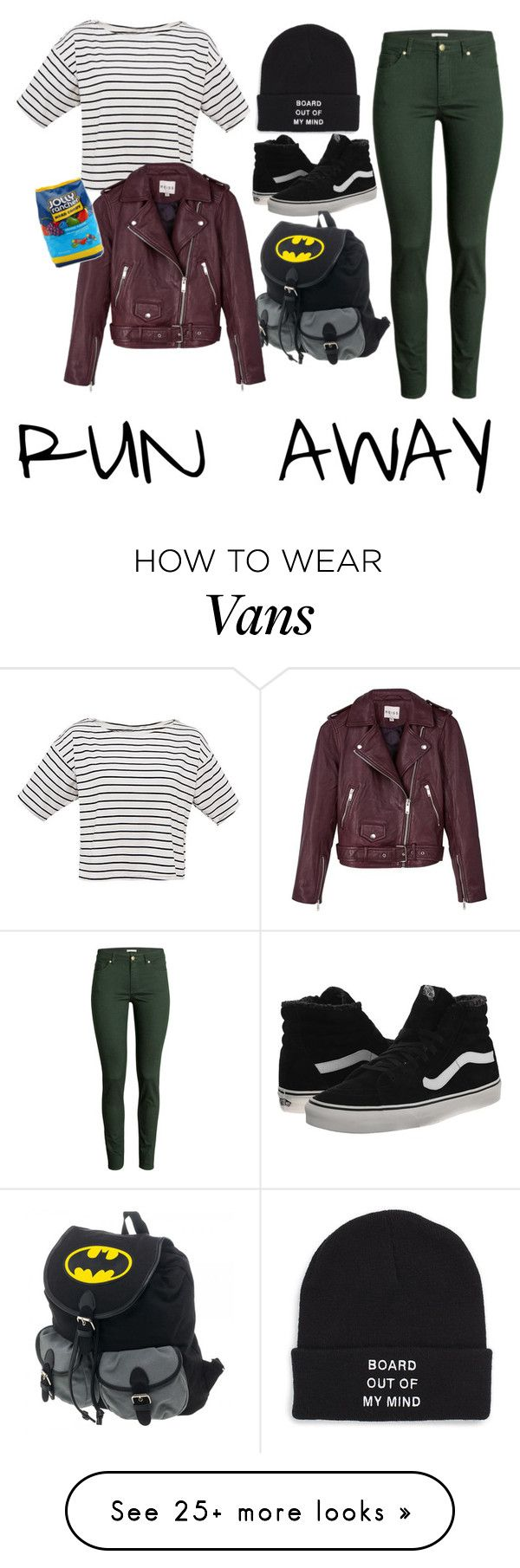 """""""runaway."""" by perksofbeingsarah on Polyvore featuring Vans, H&M, Reiss and Hard Candy"""