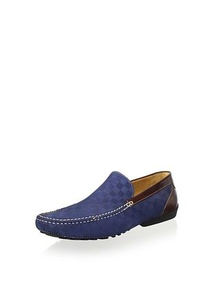 Mezlan Men's Slip on Driver Plain Vamp