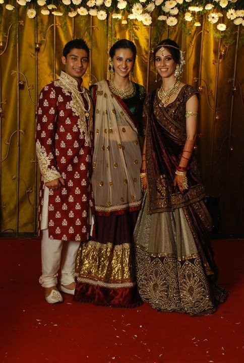 Wedding wear by Sabyasachi. Love it because of the subtlety of the bridal wear. No jhataak.