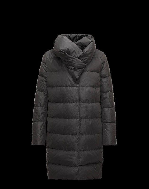 Moncler Winterjacke, Moncler REMORAY Damen Mantel Für Sie Granitgrau Polyester 41456984WJ