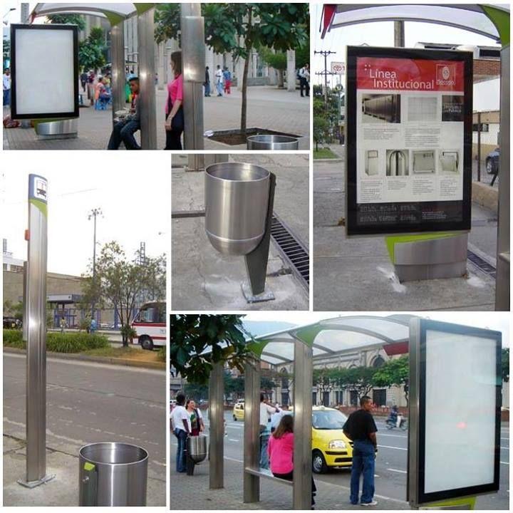 Socoda crea soluciones urbanas elaboradas en acero inoxidable con el fin de embellecer las ciudades de nuestro país y disfrutar plenamente del entorno.