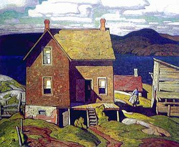A J Casson House at Parry Sound