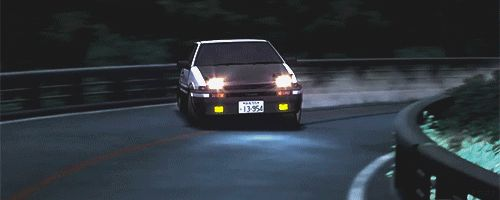 AE-86 in full effect - Initial-D