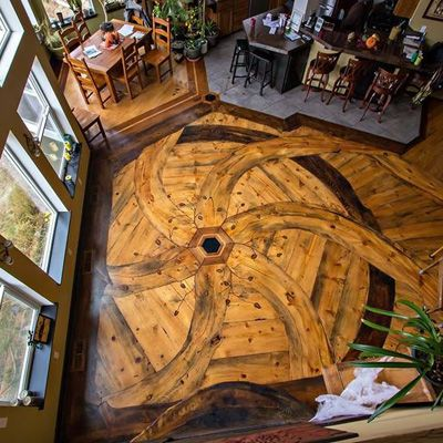 Slideshow The Art Of Wood Flooring Pictured Blue Pine