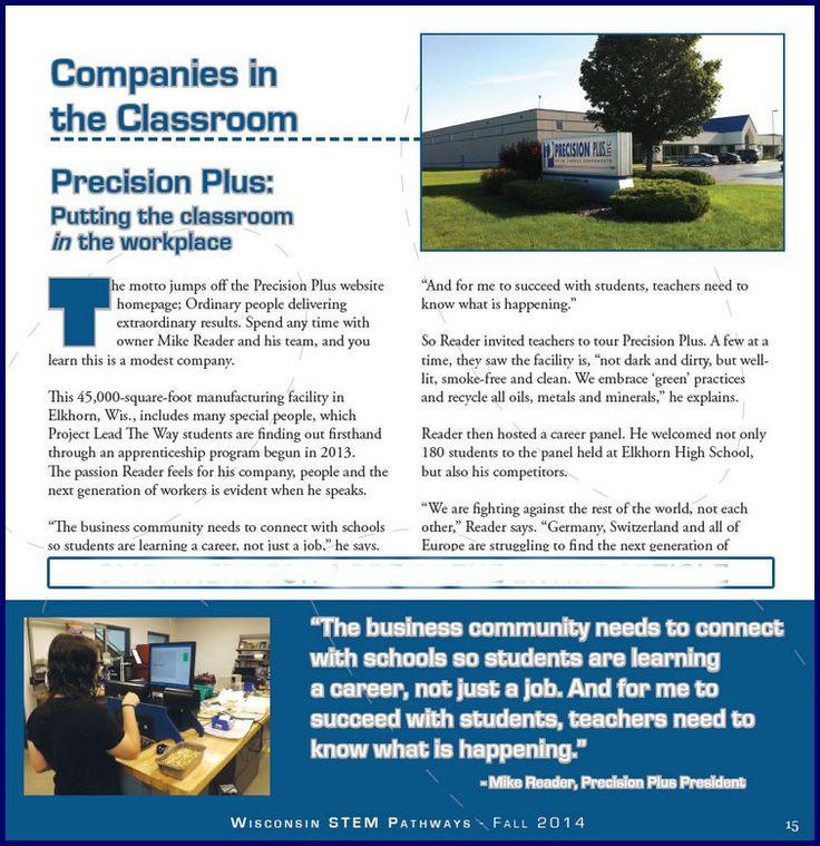 Wisconsin STEM Pathways Magazine