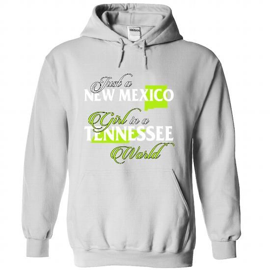 NEW MEXICO-TENNESSEE girl 02Lime - #funny gift #husband gift. MORE ITEMS  => https://www.sunfrog.com/States/NEW-MEXICO-2DTENNESSEE-girl-02Lime-White-Hoodie.html?60505