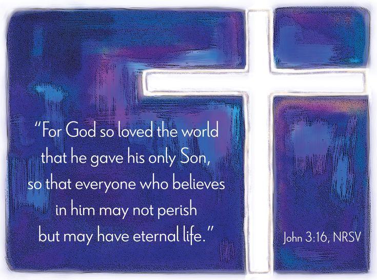 John 3.16 Nrsv Bible Verse