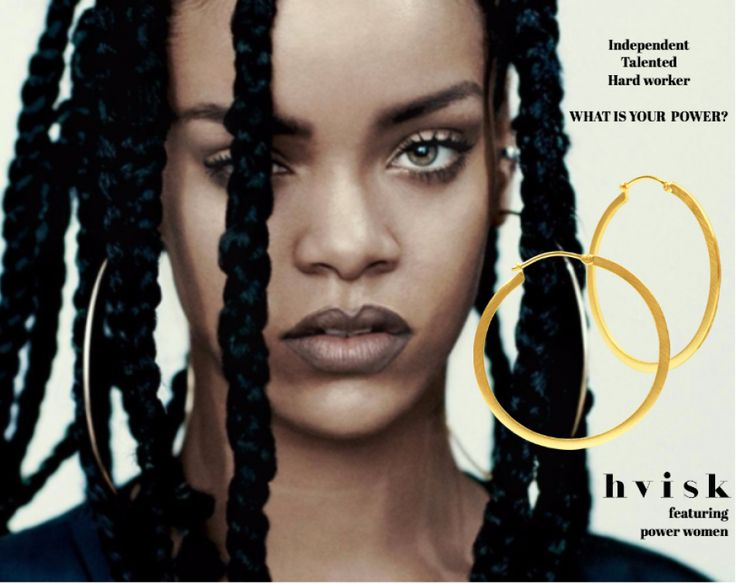 What is your power? Rihanna is a brilliant example of a woman, who knows what she wants and how to get it. Make your own ways, and don't let anyone bring you down. Every woman is powerful. Get the jewellery here: http://hvi.sk/r/4Lv7 #hvisk #hviskstylist #hviskstyling #hviskpower #rihanna #hoops #gold #power #girlpower #jewellery