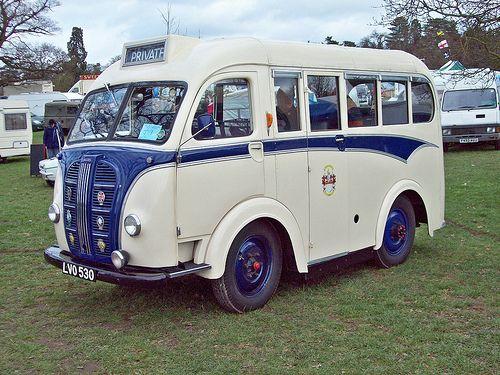 Austin K8 minibus