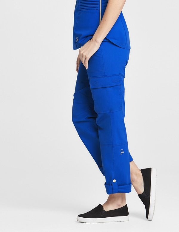 The Slouchy Cargo Pant - complete with cuffable gems for when we have the chickens or something equally messy staying in boarding