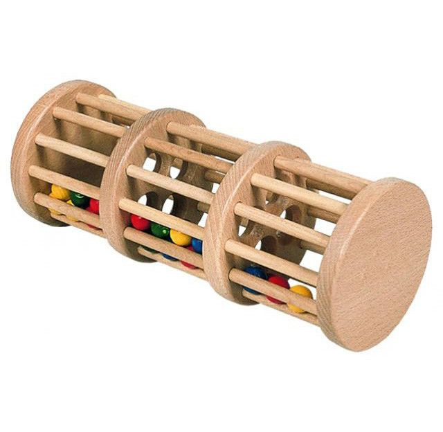 One of our store FAVOURITES!  Just turn the tower upside down and watch the colourful balls falling down. A unique and stimulating toy for your baby and toddler. This gorgeous toy is crafted from eco friendly plantation rubberwood and finished with all natural beeswax and beads with non-toxic, child safe paints.