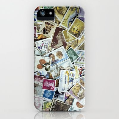 Stamps iPhone & iPod Case by Bruce Stanfield - $35.00