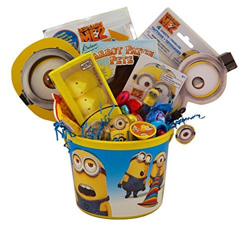 53 best easter basket ideas images on pinterest easter baskets despicable me minion easter basket easter to you httpamazon negle Image collections